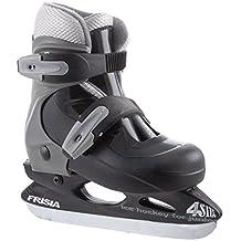 Ontario Zandstra patines de hockey sobre hielo (ajustable) para niños schwarz - grau Talla:29-32