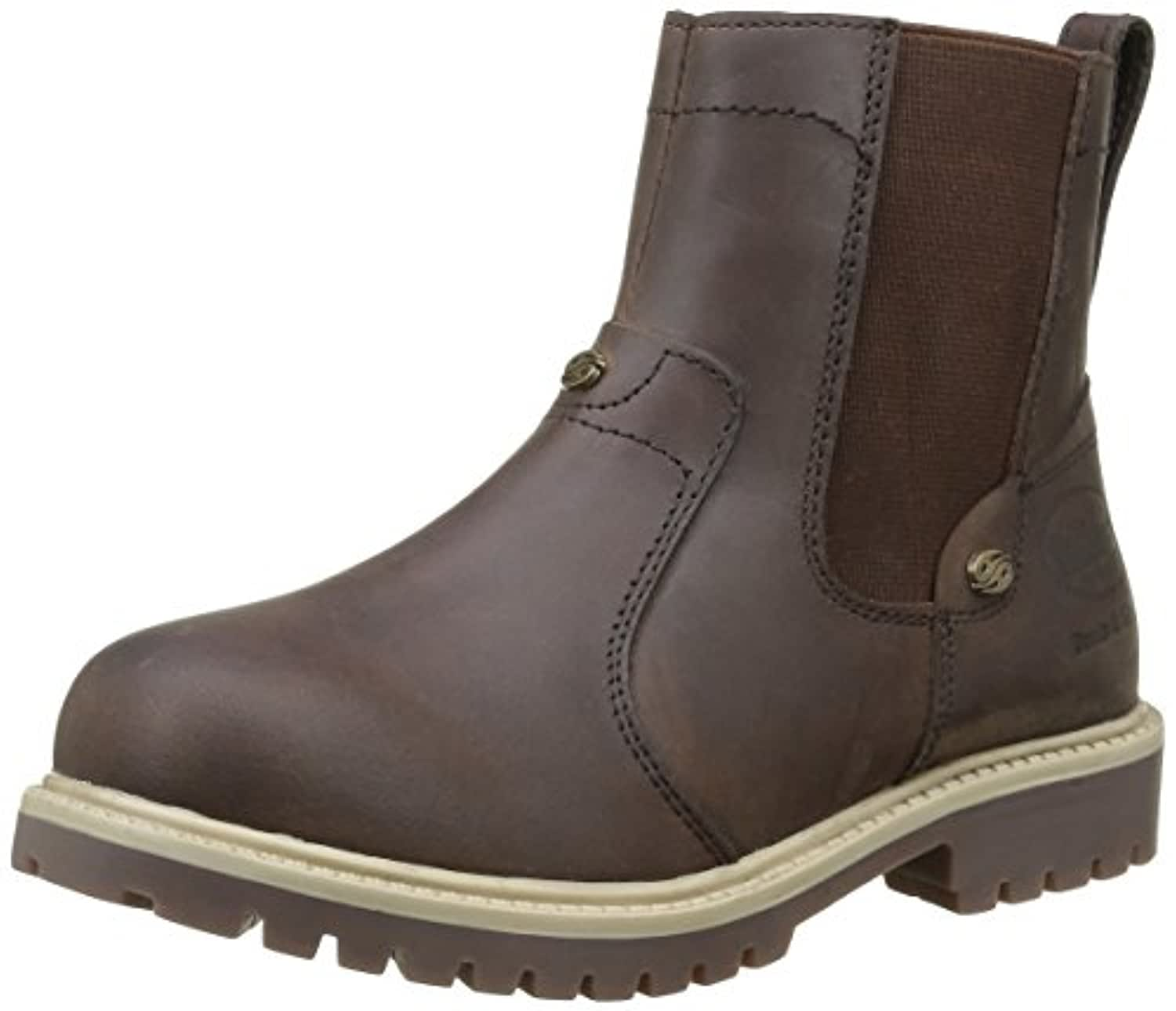 Dockers by Gerli 35fn720-400320, Unisex Kids' Warm-Lined Short-Shaft Boots and Bootees, Braun (Cafe 320), 1 UK