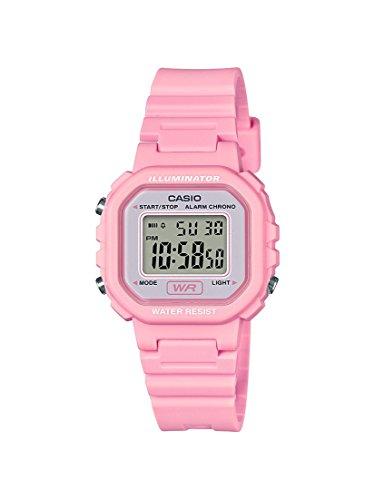 Casio Reloj Digital para Mujer de Cuarzo con Correa en Resina LA-20WH-4A1EF