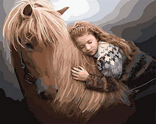 Liegende Wohnzimmer (WZZPSD Puzzel für Erwachsene Puzzle 1000 Stück Für Das Wohnzimmer Liegend Das Pferd DIY Holzpuzzle Einzigartiges Geschenk Wohnkultur Stil)