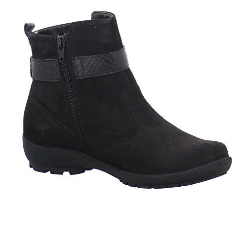 Waldläufer Holma 589816282001 Bottes Pour Femmes Noir
