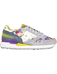 Saucony zapatos zapatillas de deporte mujer en ante nuevo shadow original gris