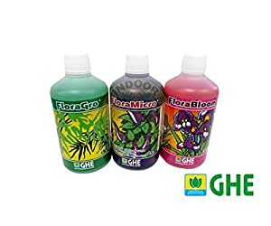GHE Pack Flora Serie 3x500 ml