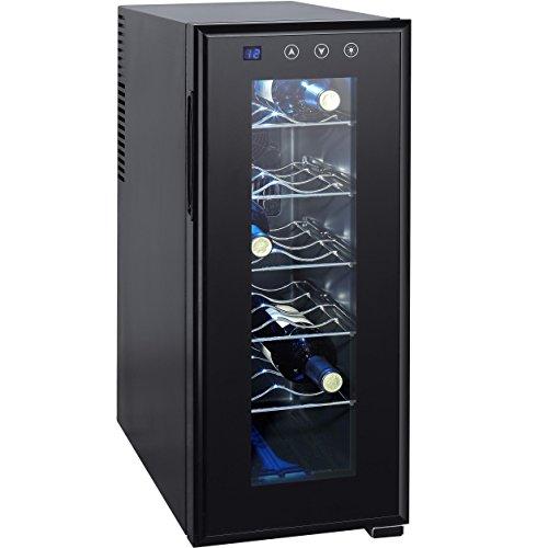Syntrox Germany 12 Flaschen Digitaler Getränkekühlschrank Weinkühlschrank