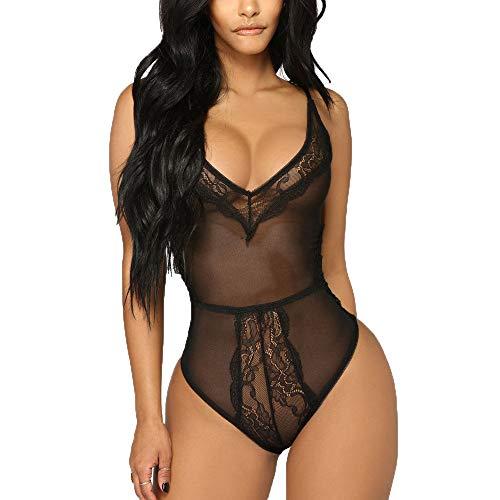 MOIKA Big Promotion! Women Nightwear Fashion Women Bodysuit Embroidered Sexy Lingerie Underwear