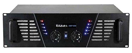 Ibiza AMP800 Vorverstärker, Schwarz