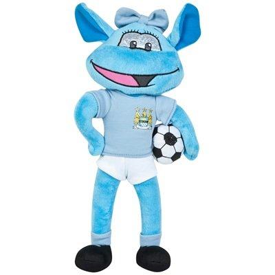 Manchester City Home Kit Moonbeam Plüschtiere (Rugby-shirts Kleinkinder)