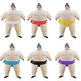 XXLLQ Aufblasbares Kostüm Erwachsene/Kind aufblasbare Sumo Ringer -Partei-Kostüm Lustige Inflatable Costume Party Fancy Cosplay Outfit Anzüge für Halloween Fasching Karneval