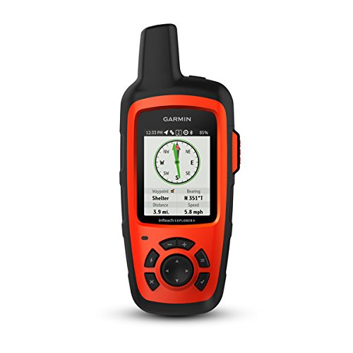 Garmin Navigationshilfe inReach Explorer + Notfallmessenger GPS-Gerät