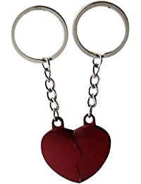 Gratitude Heart Shape Key Chain (Red)