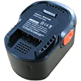 Batterie type AEG B1420R, 14.4V, 2000mAh, Ni-Cd