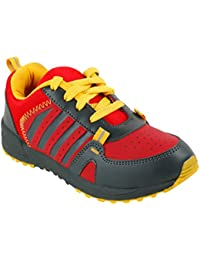 Guys & Dolls Kids's Red G Yellow Colour Synthetic Casual Shoes (Suitable For Boys And Girls)