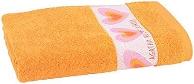 Agatha Ruiz de la Prada - 2 Toalla de baño 70 x 140 cm naranja,