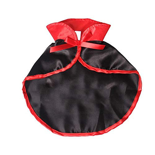 Angoter Halloween Pet Cape Umhang Kostüm Fledermaus Flügel Vampir Kostüme Pet Kleidung Für Kleine Hunde Und Katzen (Machen Fledermaus Flügel Für Kostüm)