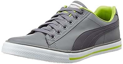 Puma Men's Salz III DP Steel Grey and Periscope Sneakers - 12 UK/India (47 EU)