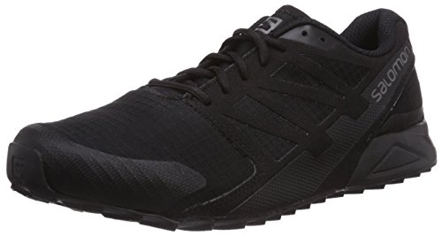 Salomon City Cross Herren Traillaufschuhe Schwarz (Black/Black/Black)