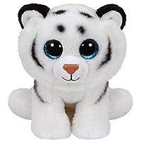 TY - Classics Tundra, tigre de peluche, 15 cm, color blanco (42106TY) , color/modelo surtido