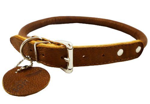high-quality-genuine-leather-rolled-dog-collar-15-18-neck-size-chow-chow-collie-labrador-by-dogs-my-