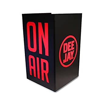 Radio DEEJAY Lampada Neon Tisana