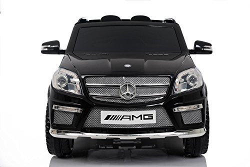 RC Kinderauto kaufen Kinderauto Bild 1: Mercedes Benz GL63 AMG Jeep SUV Lizenz Kinderfahrzeug mit 2x 35W Motor Kinderauto Elektroauto Fernbedienung MP3 Anschluss in Schwarz*