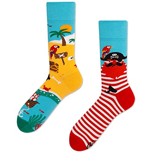 Many Mornings unisex Socken Pirate Islands (39/42) -