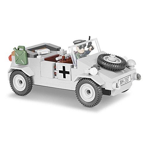 Männer-Spielzeug KDF Kübelwagen Typ 82 Bausatz Modellbau Oldtimer Fahrzeug Miliaria Geschenk Militärfahrzeug Kübel #23272