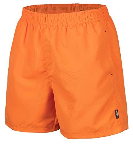 Zagano Adam Lipski Herren Badeshort, 5013.F orange, Gr. S/Badehose/Badeshorts/Beach-Shorts/Bermuda-Shorts/Freizeit-Hose