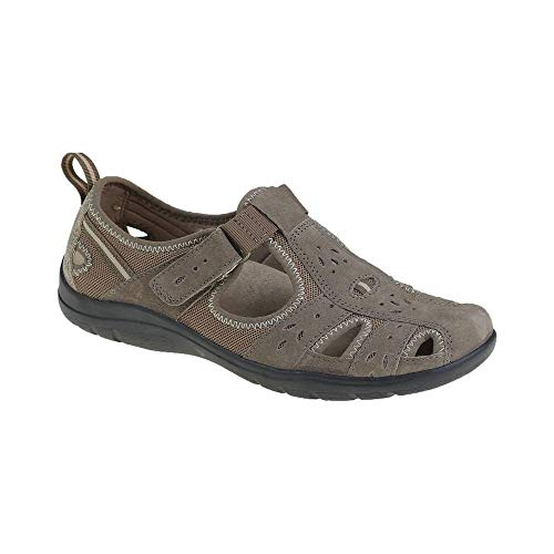 earth spirit cleveland womens leather shoe sandals