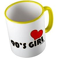 90s Girl ★ Tazza buffa - Tazza da caffè - Tazza da tè ★ stampa di alta qualità e slogan buffo ★ Il regalo perfetto per ogni occasione