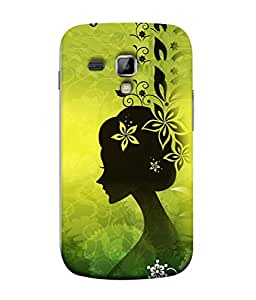 PrintVisa Designer Back Case Cover for Samsung Galaxy S Duos S7582 (shadowy image beautiful lovely girl)
