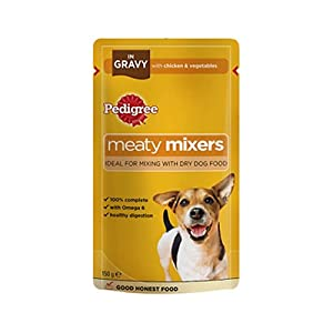 Pedigree Meaty Mixers in Gravy with Chicken & Vegetables 18 x 150g 2700g from Pedigree