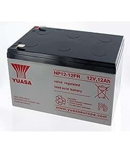 Yuasa - Batterie Plomb Yuasa 12V 12Ah NP12-12FR - NP1212FR