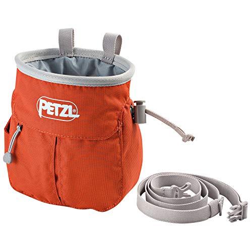 Petzl Erwachsene sakapoche Magnesiumtasche, rot, One Size -