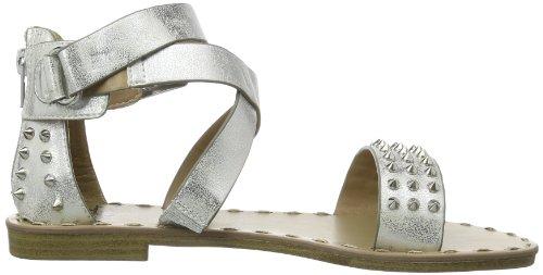 Mustang Sandalette, sandales femme Argent - Silber (silber 21)