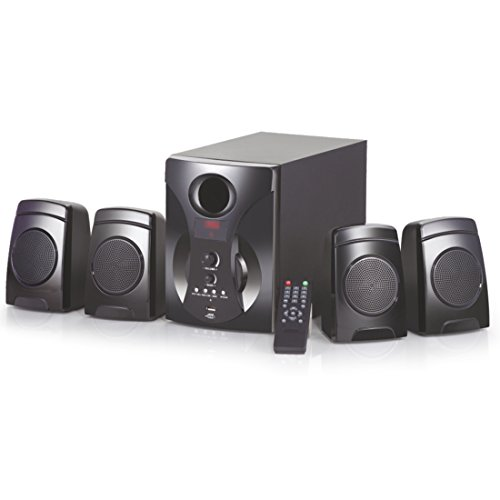 Oshaan S14 4.1 Channel Multimedia Home Theater Speaker,Bluetooth Connectivity,FM/AUX/USB Support