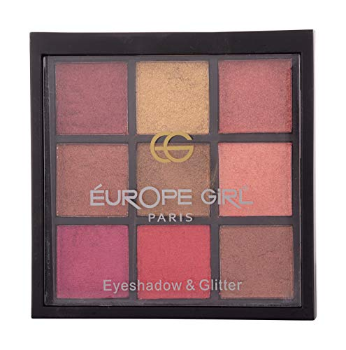 EUROPE GIRL EYES CREAM EYESHADOW (Eye Shadow Creamy Palette no 2)