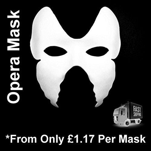 4-x-face-masks-plain-white-opera-oprah-adult-child-kids-masquerade-to-paint-decorate-by-habercrafts