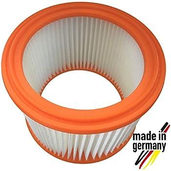 Einhell 2351110 10x Rund-Filter Lamellenfilter gelb für Kärcher 6.904-170.0