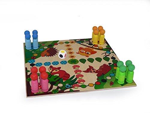 'Raus mit Dir' Spiel Waldtiere 300 x 300 x 60 NEU Würfelspiel Brettspiel