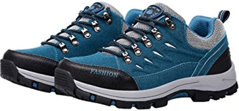 Menschwear Herren Outdoor Wanderne Mesh Schuhe Walking Sneaker