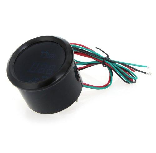 KKmoon-24-019-551-Medidor-Digital-de-Temperatura-del-Agua-Medidor-con-Sensor-52mm-2-pulgadas-LCD-para-Vehculos-Color-Negro