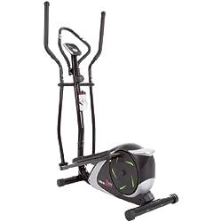 Ultrasport Bicicleta elíptica XT-Trainer 700M con sensores de Pulso de Mano, bidón Incluido