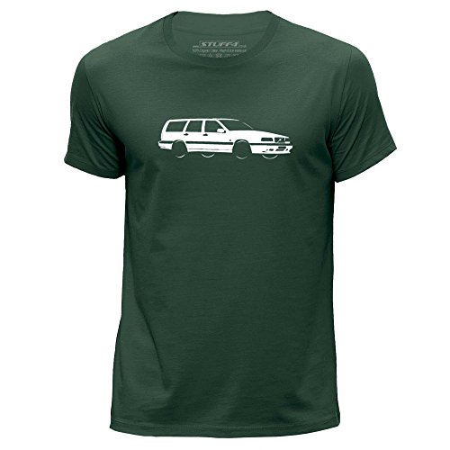 stuff4-herren-xx-gross-xxl-dunkelgrun-rundhals-t-shirt-schablone-auto-kunst-850-t5-r