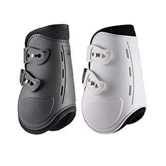 Woof Wear SMART FETLOCK BOOTS FOR SHOW JUMPING (BLACK, S/M) 7