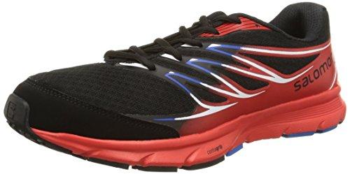 Salomon Sense Link - Zapatillas para hombre, color negro, talla 44