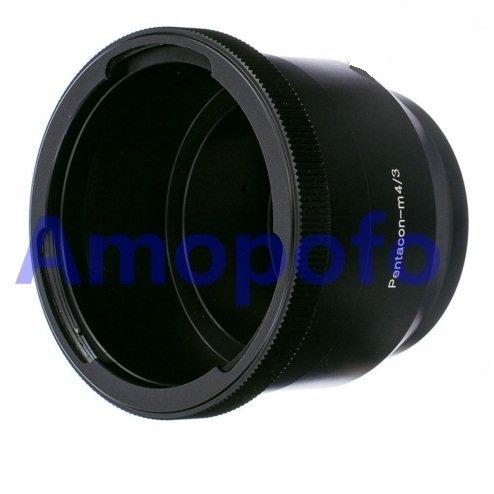 Amopofo Pentacon 6 Kiev 60 Lens to Micro Four Thirds m4/3 Adapter Olympus GX7 GH3 EPL5 EP5 Camera P60 M4/3