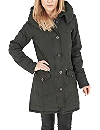 Urban Classics TB1088 Damen Jacke Jacke Garment Washed Long Parka 9097f07855