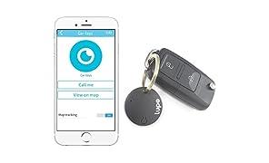 myLupo Bluetooth Finder & Tracker für iPhone Android & Tablets (rabenschwarz)