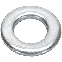 Sealey fwa510Arandela plana M5x 10mm Forma de zinc DIN 125, 100unidades)