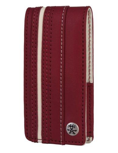 Crumpler The Le Royale Leder Tasche für Apple iPod Nano 5G rot